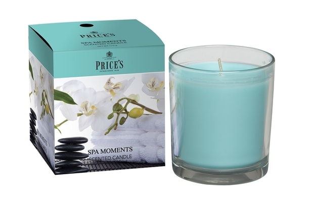 FRAGRANCE vonná svíčka ve skle Spa moments 350g